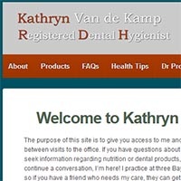 Kathryn Van de Kamp Registered Dental Hygienist